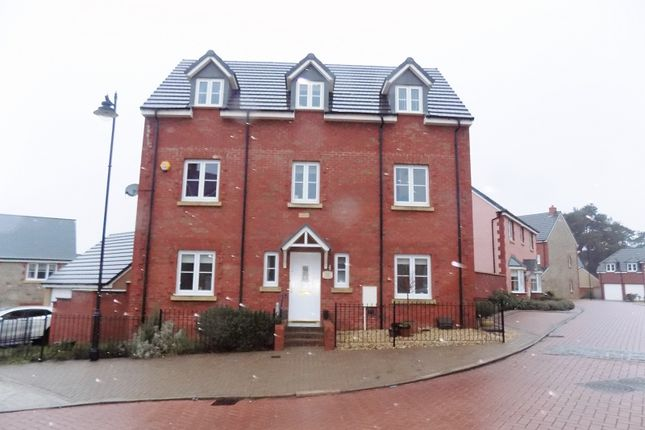 Thumbnail Detached house for sale in Llys Yr Onnen, Coity, Bridgend.