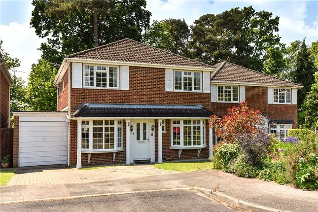 Thumbnail Detached house for sale in Kingfisher Close, Church Crookham, Fleet