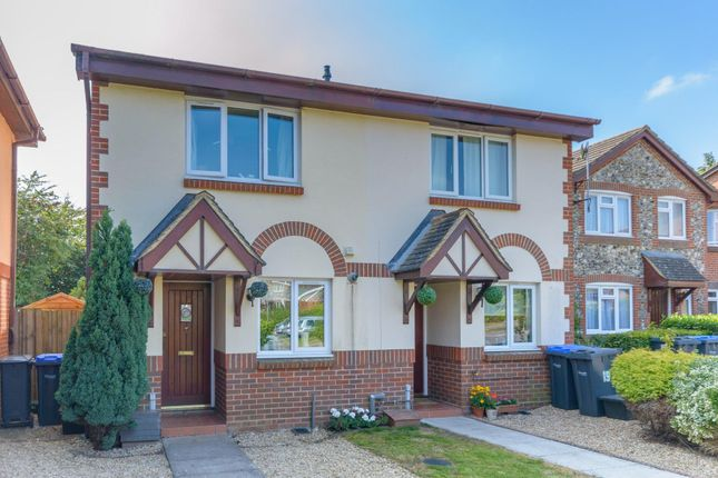Thumbnail 2 bed property to rent in St. Lukes Close, Bishopdown, Salisbury