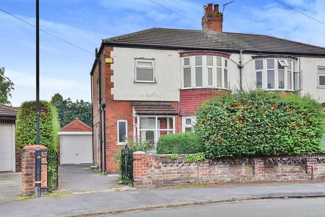 3 bed semi-detached house to rent in Overton Crescent, Sale, Cheshire M33