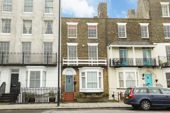 Thumbnail Terraced house for sale in Fort Crescent, Margate