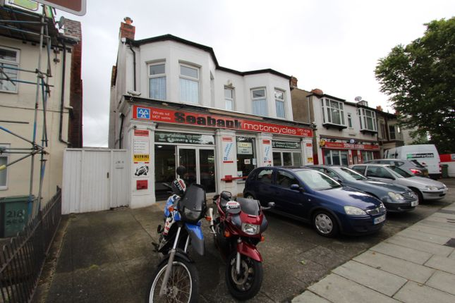 Thumbnail Flat to rent in Seabank Road, Wallasey