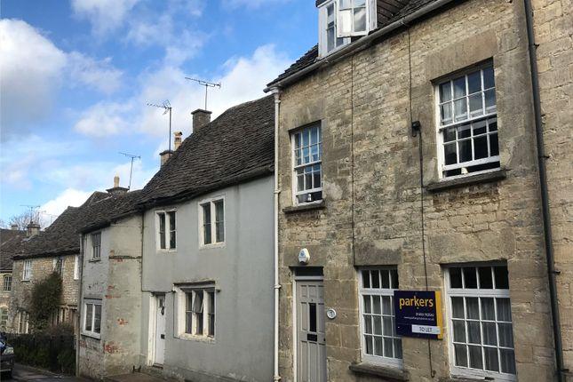 Thumbnail Terraced house to rent in Tetbury Street, Minchinhampton, Stroud, Gloucestershire