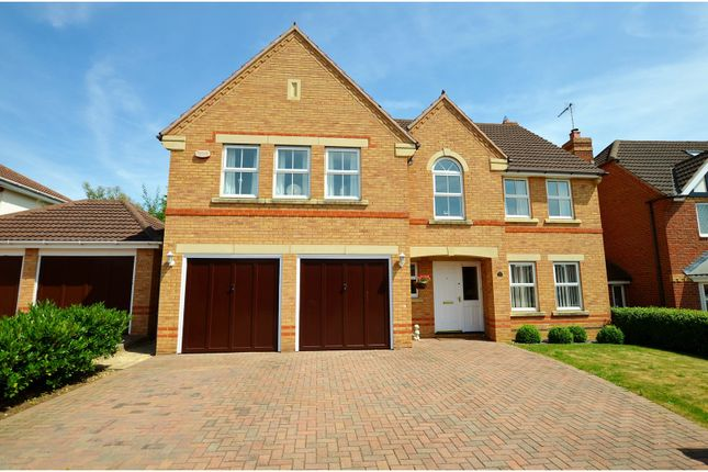 Thumbnail Detached house for sale in Sorrel Close, Wootton, Northampton
