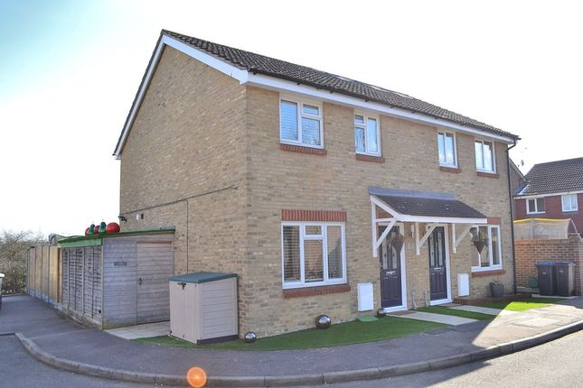 Thumbnail Semi-detached house for sale in Lavender Close, Harlow