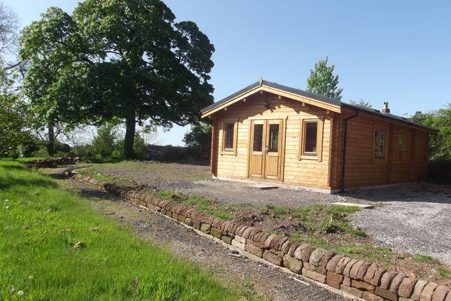 Thumbnail Lodge to rent in Fairfield Farm, Cheadle Road, Alton
