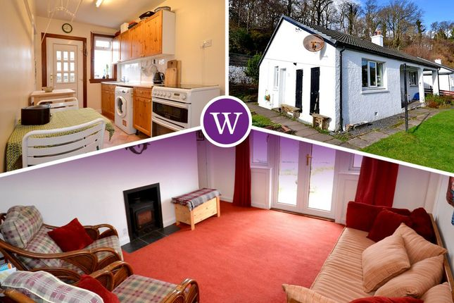 Thumbnail Detached bungalow for sale in Dunollie Road, Oban