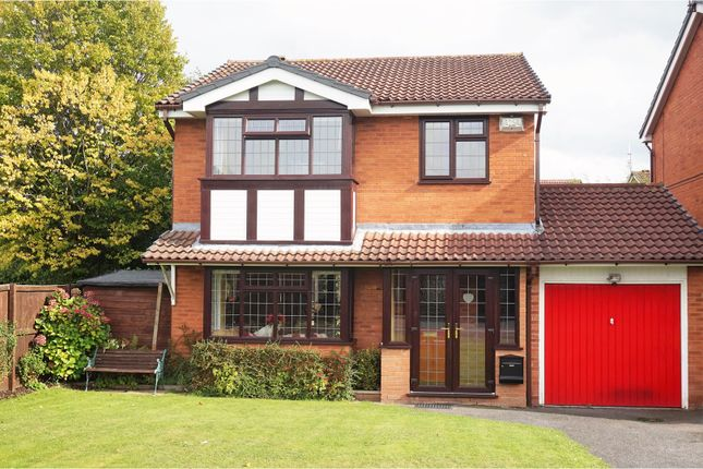 Thumbnail Detached house for sale in Lythwood Drive, Brierley Hill