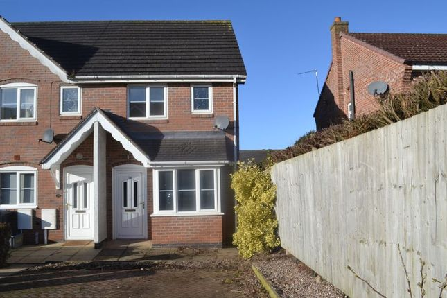 2 bed semi-detached house to rent in Warren Hill, Newhall, Swadlincote DE11