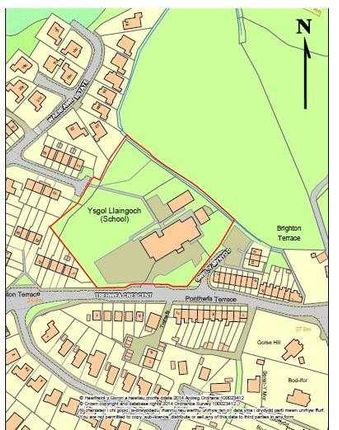 Thumbnail Land for sale in Llaingoch, Holyhead