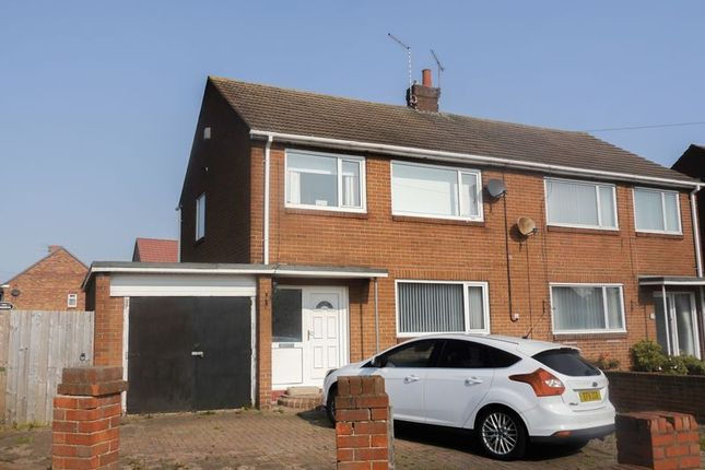 3 bed semi-detached house for sale in Knox Road, Bedlington