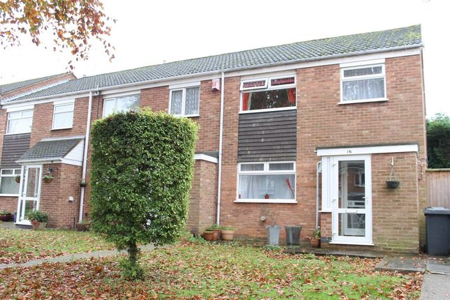 Thumbnail End terrace house for sale in Cooper Close, Aylestone, Leicester
