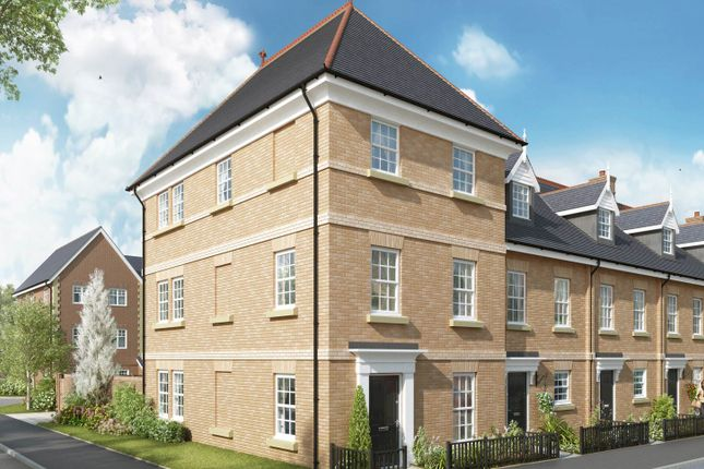 "Thumbnail Semi-detached house for sale in ""The Codnor"" at The Ridgeway, Enfield"