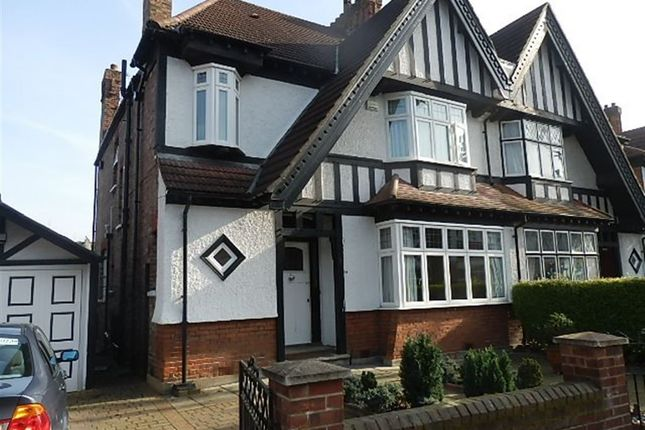 Thumbnail Semi-detached house to rent in Hart Grove, Acton, London