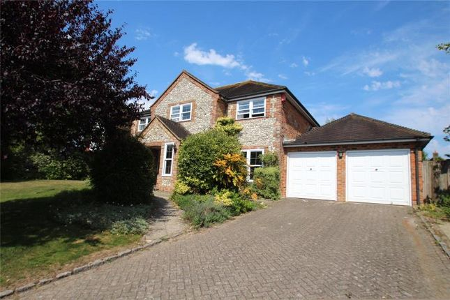 Thumbnail Detached house for sale in Fox Lea, Findon Village, Worthing