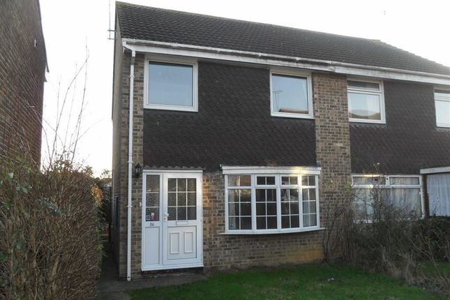 Thumbnail Semi-detached house to rent in Tryon Close, Swindon