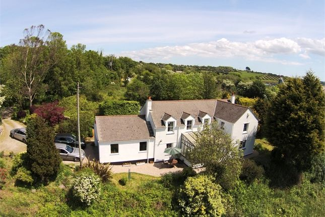 Thumbnail Detached house for sale in Baldhu, Truro