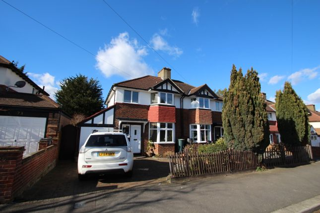 Thumbnail Semi-detached house to rent in Chiltern Drive, Surbiton