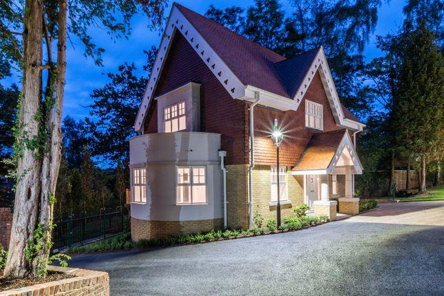 Thumbnail Detached house for sale in Ridgewood, Brooklands Road, Weybridge