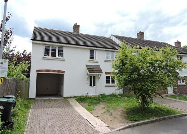 Thumbnail Semi-detached house to rent in Wharf Way, Hunton Bridge, Kings Langley