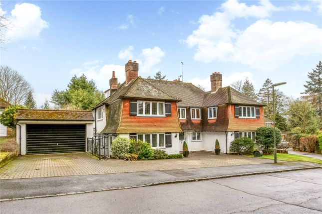 Thumbnail Detached house for sale in Chesters Road, Camberley, Surrey