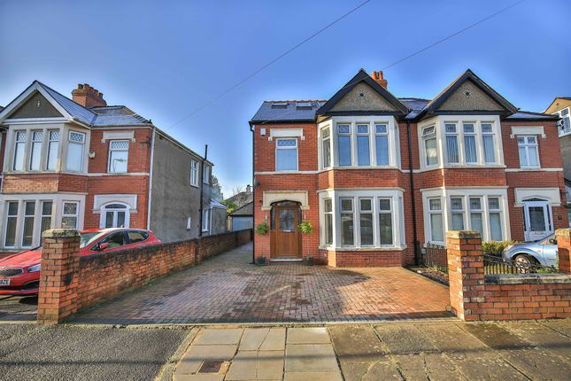 Thumbnail Semi-detached house for sale in St Denis Road, Heath, Cardiff