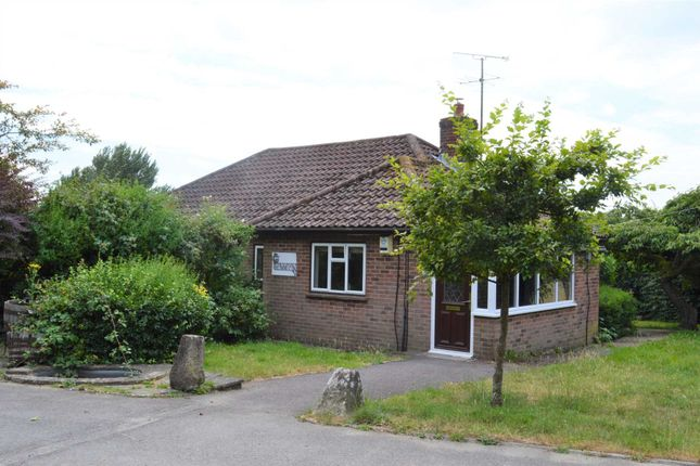 Thumbnail Detached bungalow to rent in Wilcot Road, Pewsey
