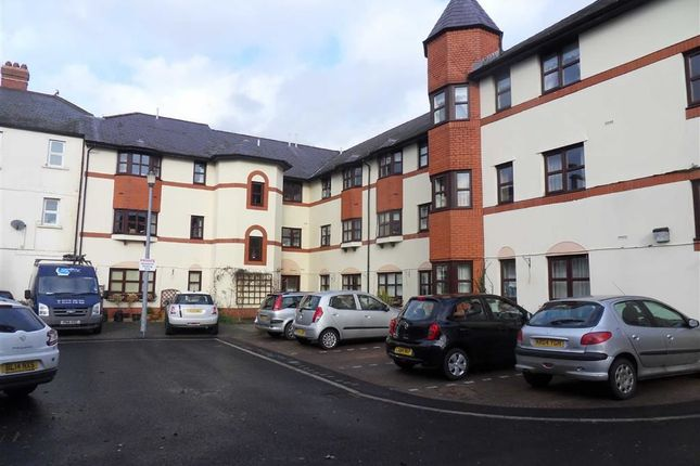 Thumbnail Flat for sale in Castle Court, Usk, Monmouthshire