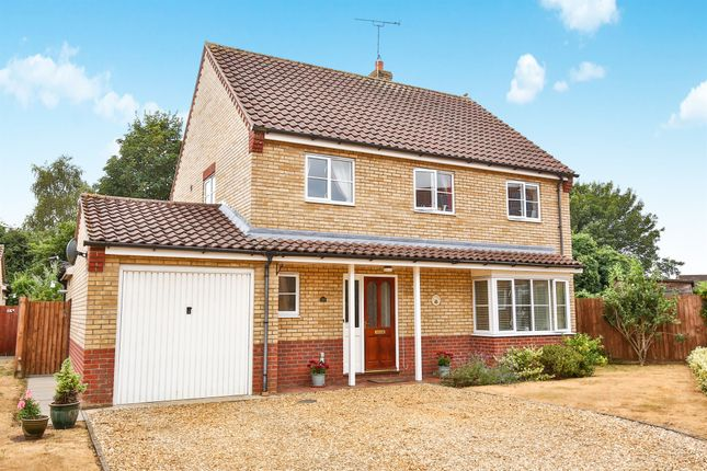 Thumbnail Detached house for sale in Bramley Road, Dereham