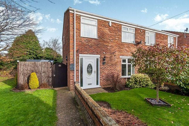 3 bed semi-detached house to rent in Beverley Close, Holton-Le-Clay, Grimsby DN36