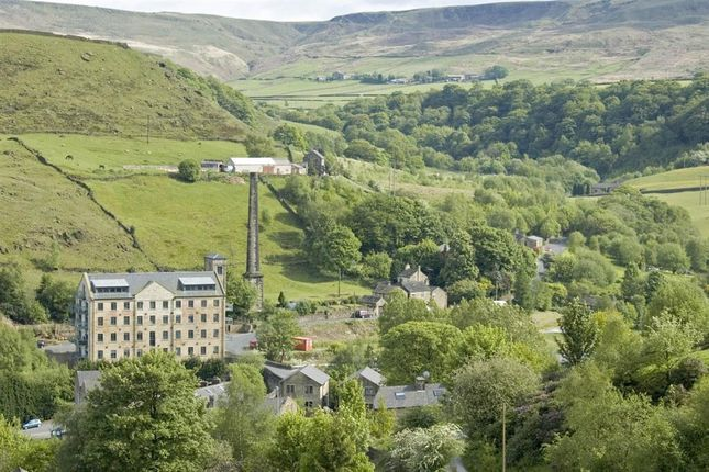 Thumbnail Flat for sale in Woodhouse Road, Todmorden