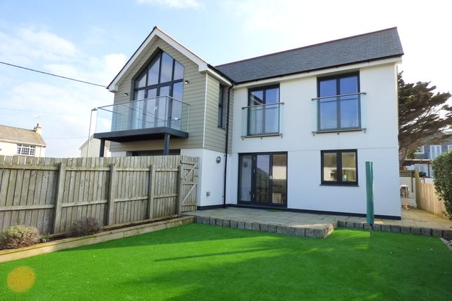 Thumbnail Detached house for sale in Liskey Hill, Perranporth