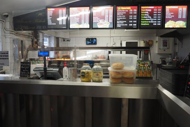 Thumbnail Leisure/hospitality for sale in Fish & Chips DE4, Derbyshire