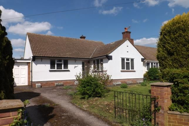 Thumbnail Bungalow for sale in Cambridge Road, Langford, Biggleswade, Bedfordshire