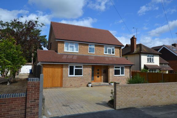 Thumbnail Detached house for sale in Florence Road, Church Crookham, Fleet