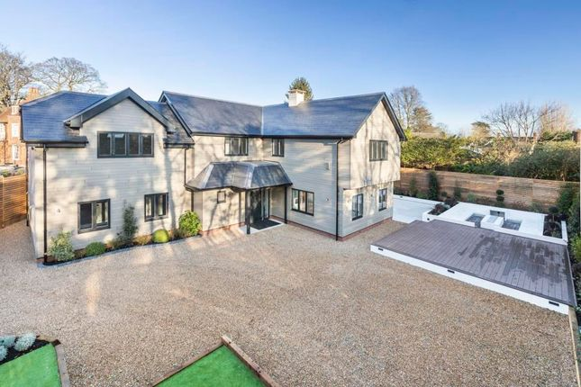 Thumbnail Detached house for sale in Barley Mow Road, Englefield Green, Egham