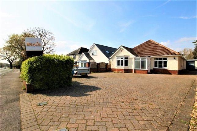 Thumbnail Detached bungalow to rent in Brook Lane, Sarisbury Green, Southampton