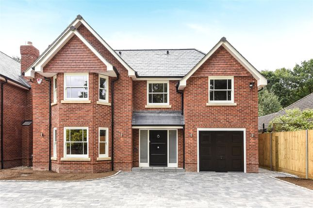 Thumbnail Detached house for sale in Nine Mile Ride, Finchampstead, Wokingham, Berkshire