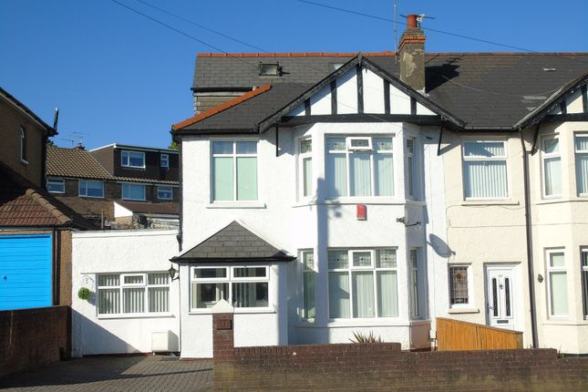Thumbnail Semi-detached house for sale in Redlands Road, Penarth