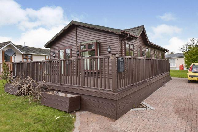 Thumbnail Mobile/park home for sale in Brocklehurst Park, Langham, Oakham