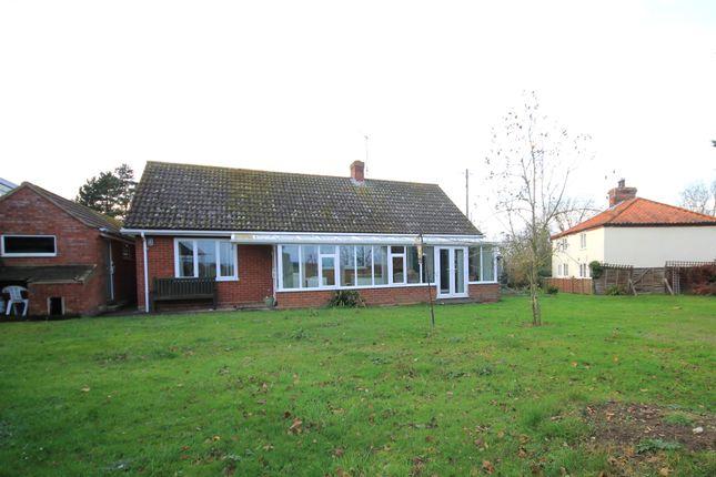 Thumbnail Detached bungalow for sale in Moorgate Road, Hindringham, Fakenham
