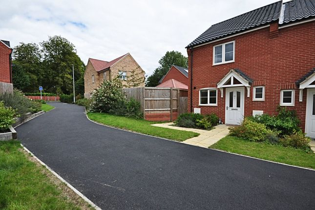 Thumbnail Semi-detached house for sale in Long Meadow Drive, Roydon, Diss