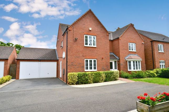 Thumbnail Detached house for sale in Marigold Close, Evesham
