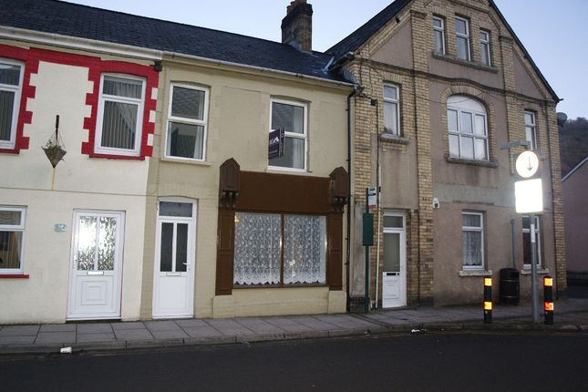Thumbnail Terraced house to rent in Marine Street, Cwm