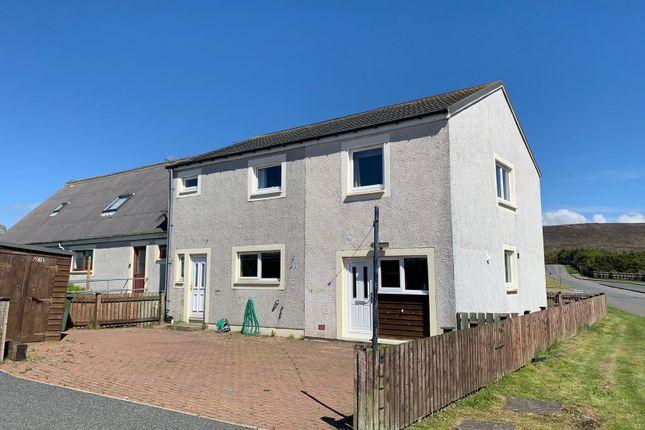 Thumbnail Semi-detached house for sale in Ladieside, Brae, Shetland