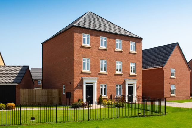 """Thumbnail Semi-detached house for sale in """"Cannington"""" at Sandbeck Lane, Wetherby"""