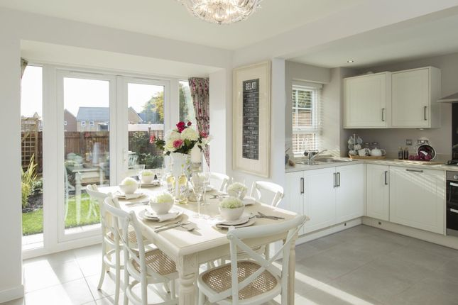 "Thumbnail Detached house for sale in ""Morpeth"" at Saxon Court, Bicton Heath, Shrewsbury"