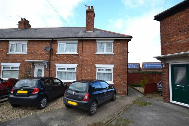 Thumbnail End terrace house to rent in Southgate Gardens, Hornsea, East Yorkshire
