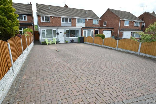 Thumbnail Semi-detached house for sale in Raymont Grove, Park Farm, Great Barr, Great Barr