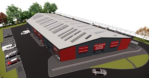 Thumbnail Light industrial to let in Llangefni Trade Park, Industrial Estate Road, Llangefni, Anglesey